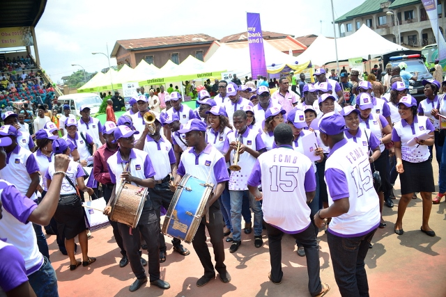 FCMB band team at the event