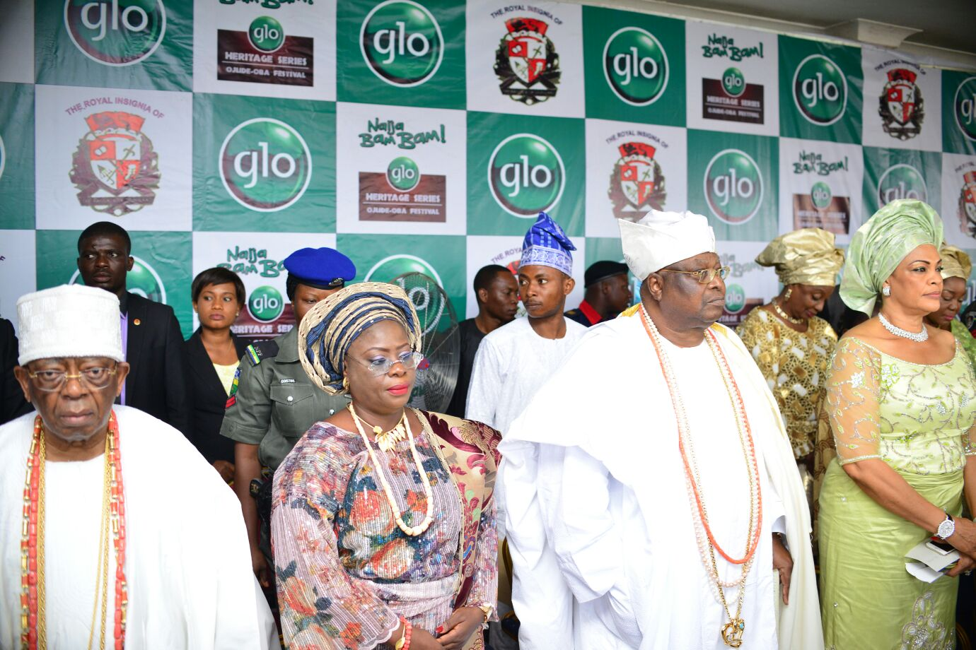 L-R: The Founder of First City Monument Bank (FCMB), Otunba Olasubomi Balogun; the Deputy Governor of Ogun state, Mrs. Yetunde Onanuga; the Awujale of Ijebuland, Oba Sikiru Adetona and Chief (Mrs.) Daisy Danjuma, during the Ojude Oba Festival held at Ijebu Ode in Ogun State on Saturday.