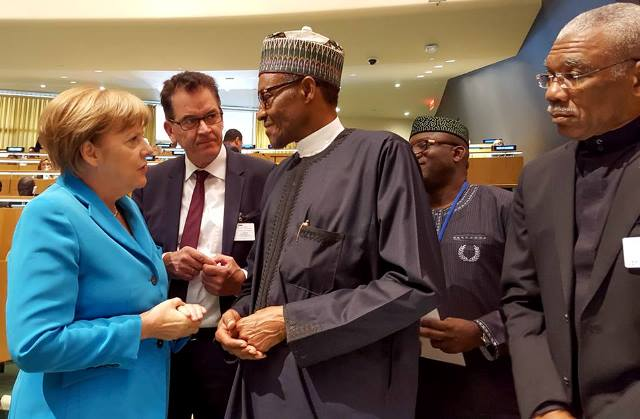PMB AND GERMAN CHANCELLOR