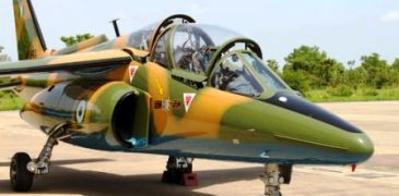 BREAKING: Air Force plane crashed in Adamawa