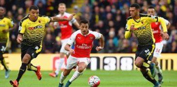 Arsenal shocked stubborn Watford, as Sanchez stars