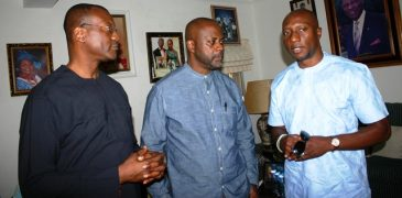 NSE CEO pays condolence visit to the Onosode's (PHOTO)