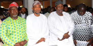 Osun: Aregbesola, Speaker pray for Nigeria's Independence (PHOTO)