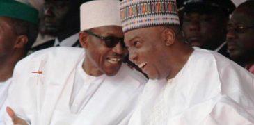 See how Buhari, Saraki, Osinbajo celebrate Nigeria at 55