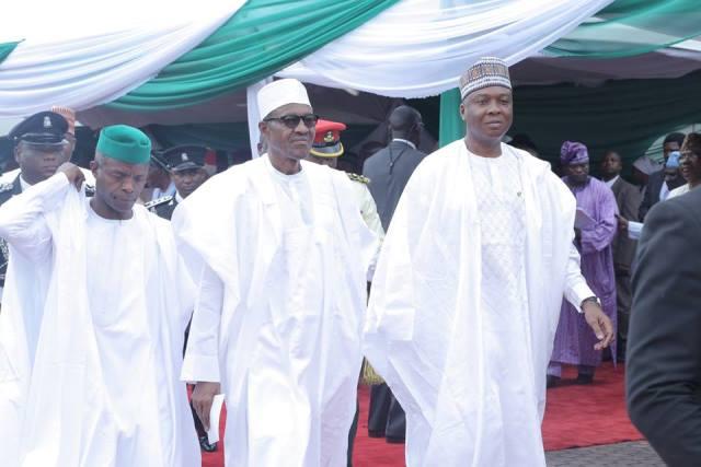 Nigeria@55_newsverge.com_osinbajo-buhari-saraki