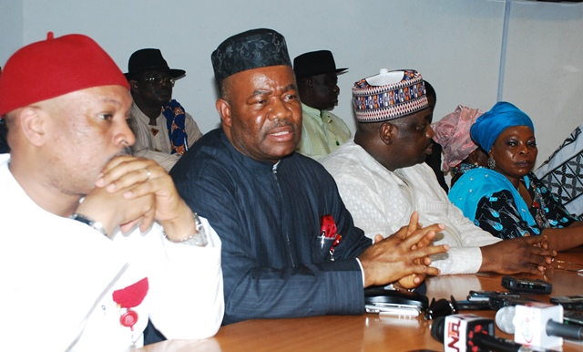 Why we staged walk out on Amaechi – PDP Senate Caucus