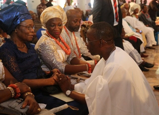 At Pa Gamaliel Onorode's burial service (PHOTO)