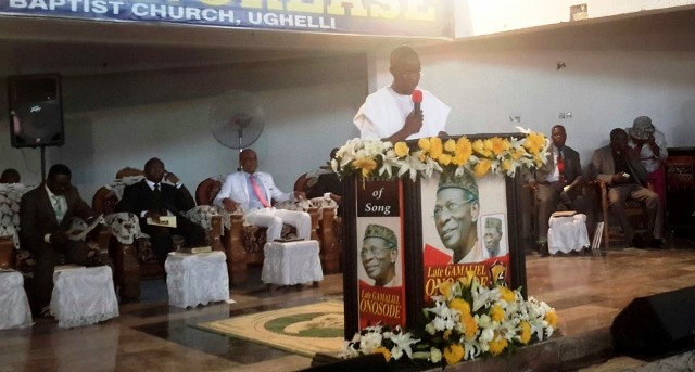Nigeria lost a nationalist as Onosode is buried, Okowa says