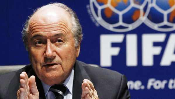 Blatter hits out at FIFA's World Cup bidding process