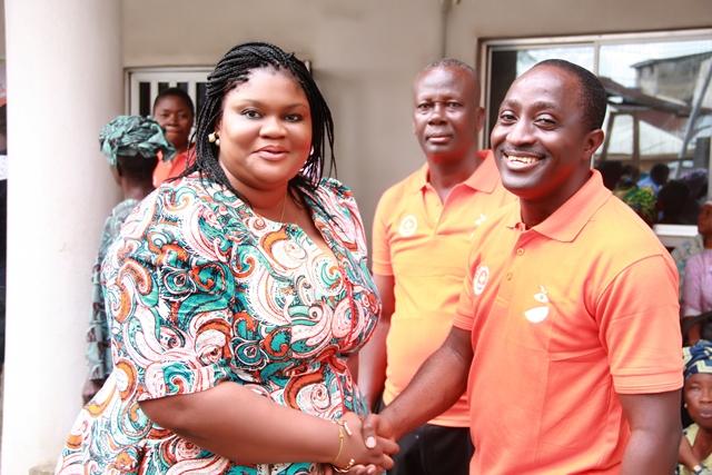 with Dr. Kunle Megbuwawon of Orange  Health  Initiative
