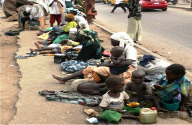 Sad, beggars take over Ilorin!