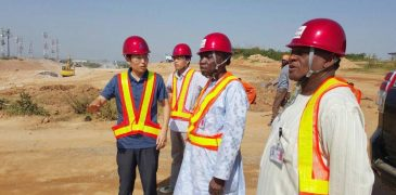 FAAN MD inspects railway project to Abuja Airport (PHOTO)