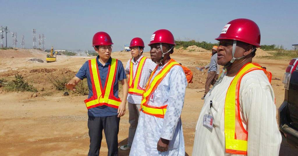 FAAN MD inspects railway project linking Abuja Airport (PHOTO)