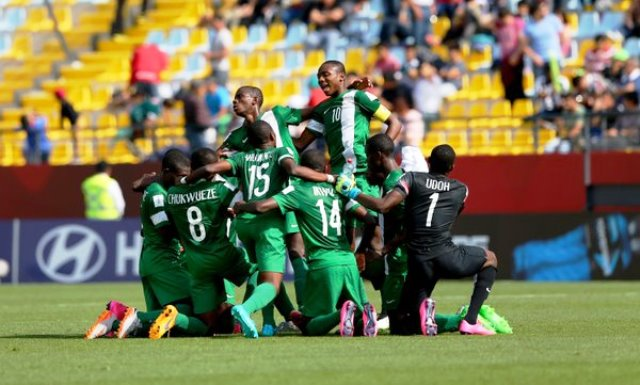 Nigeria's Golden Eaglets demolishes Brazil, soar into semi