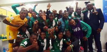 U-17 WC: Eaglets shock Mexico, as Amuneke expects tough 'African' final