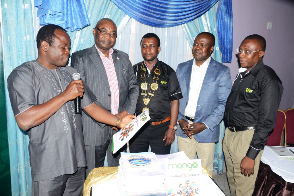 Unveiling of the second edition of The Mango Magazine at the event
