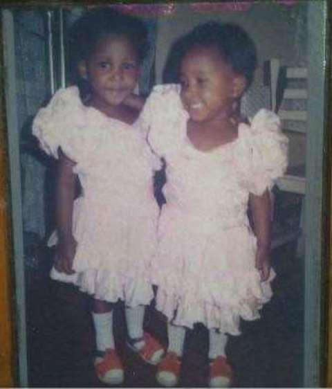 Pamela Peter-Vigboro Leesi and her twin sister, Ledi Pauline Peter