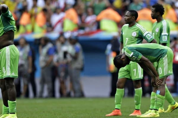 Nigeria's Super Eagles fall dip on Fifa ranking