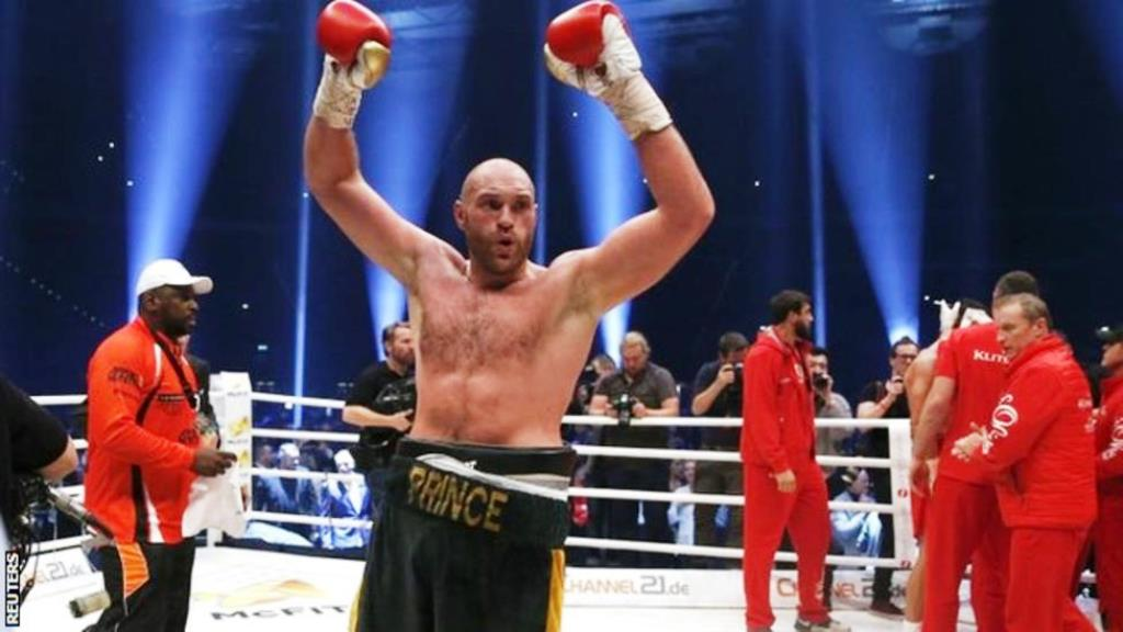 Boxer Tyson Fury gives up world titles to focus on medical treatment