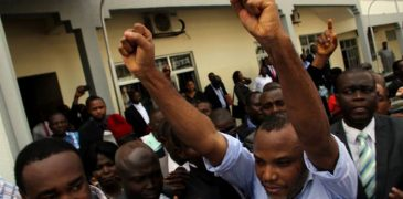 JUST IN: Nnamdi Kanu fulfills bail condition