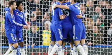 Chelsea end worst run, Vardy equals record