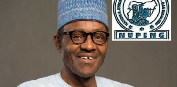 Remove subsidy completely to end fuel crisis, NUPENG tells Buhari