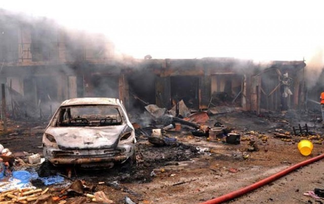Multiple bomb attacks kill 18, injure 29 in Maiduguri