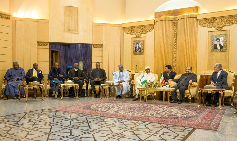 Buhari arrives Iran for 3rd gas exporting countries forum
