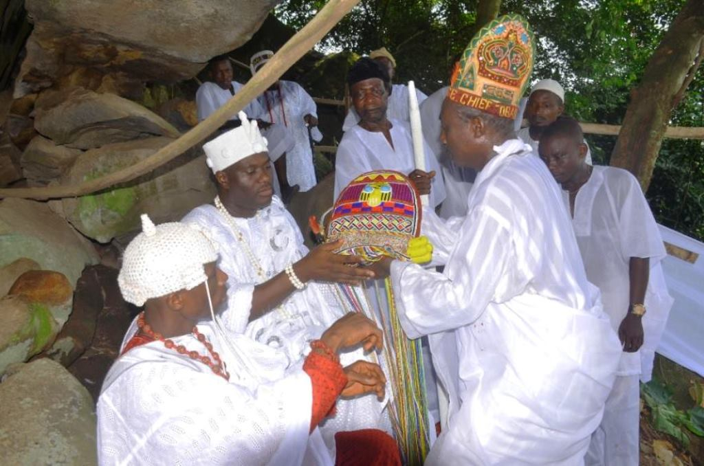 New Ooni, Oba Ogunnusi receives Staff-of-Office December 7
