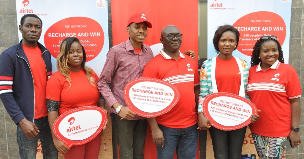"How to win N1m, Dubai trip in Airtel's ""Red Hot Promo"""