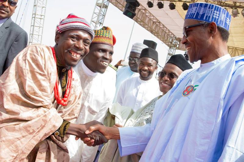 Buhari thanks musicians for their contributions to APC's victory at 2015 polls