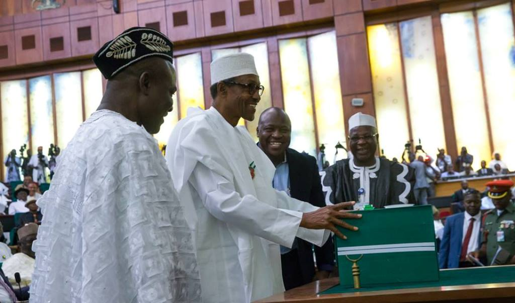 Buhari raises borrowing in budget as oil prices fall