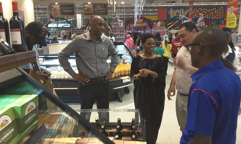 Singer Chidinma opens Shoprite Jabi Lake Mall