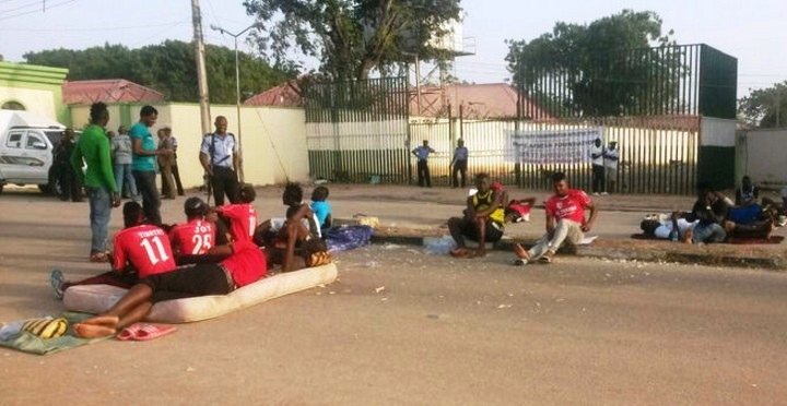 Unpaid salaries: FC Taraba players end 10 days protest