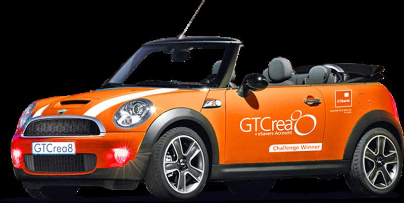 Undergraduate wins GTBank's GTCrea8 Mini Cooper