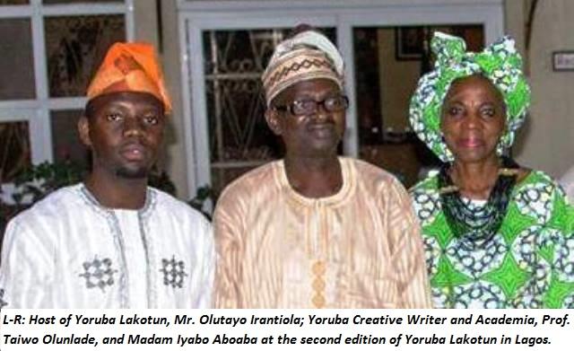 Yoruba 'LAKOTUN' increases cultural literacy