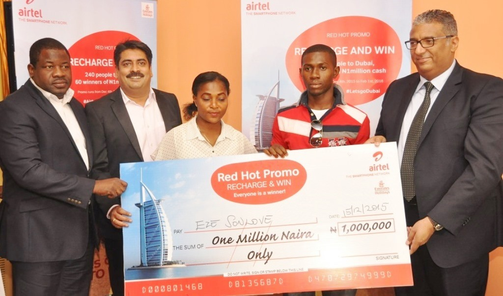 First set of winners emerge in Airtel Red Hot Promo 3 (PHOTO)