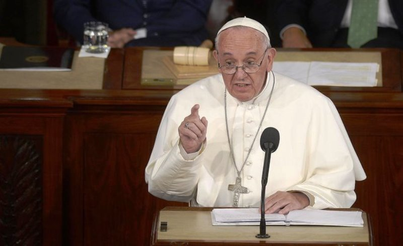 Pope condemns denial, indifference, resignation on climate change