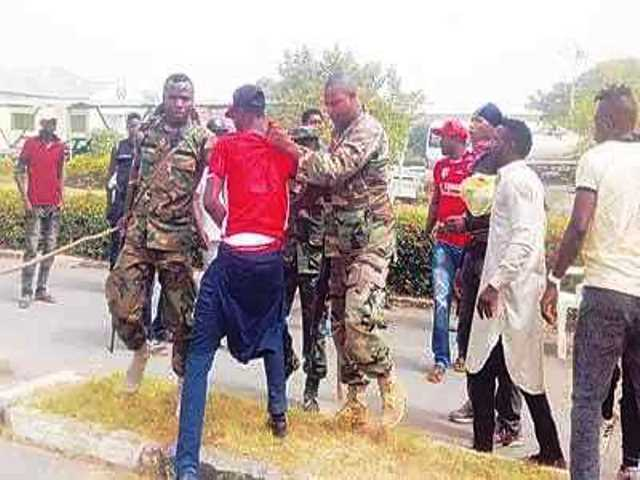 Soldiers assault on Taraba footballers, crest of impunity – TUC