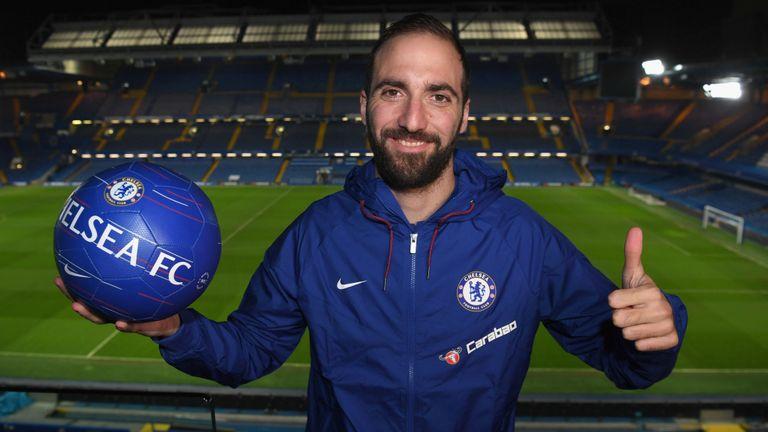 Chelsea, Gonzalo Higuain, Juventus