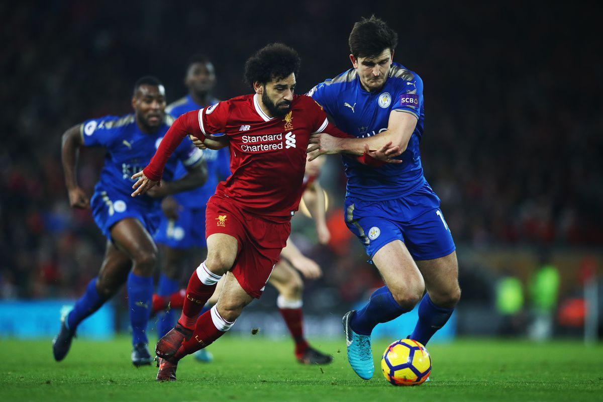 Liverpool held 1-1 by Leicester to stay 5 points ahead of EPL rivals
