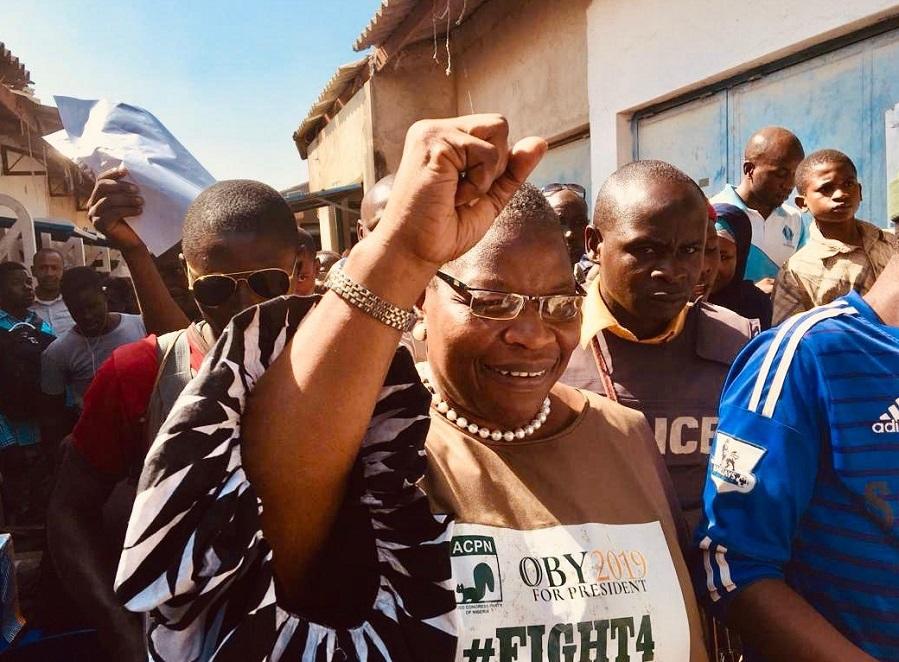 2019 poll: Fela Durotoye salutesOby Ezekwesili's sacrifice forcoalitionagainst PDP, APC