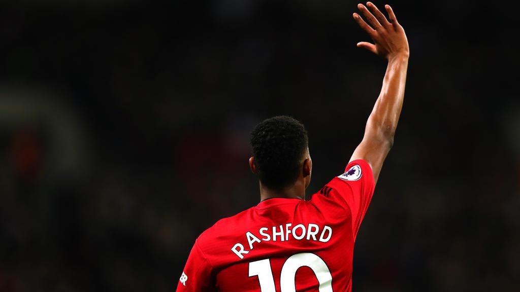 Solskjaer rates Rashford as league 'best'