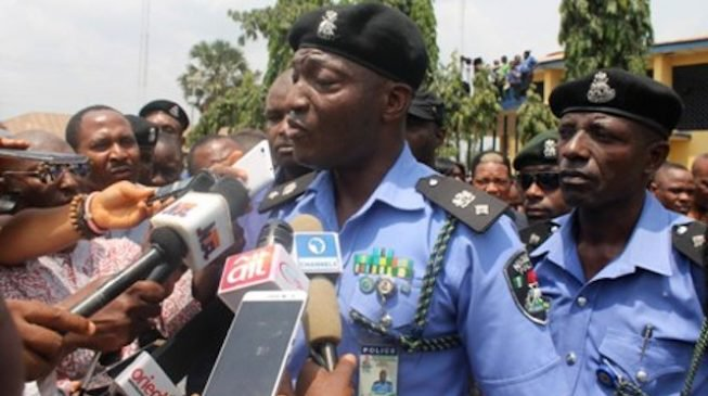 Police deny its personnel protested