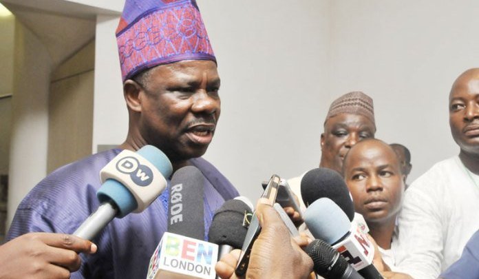 Amosun inaugurates 26-member Transition Committee