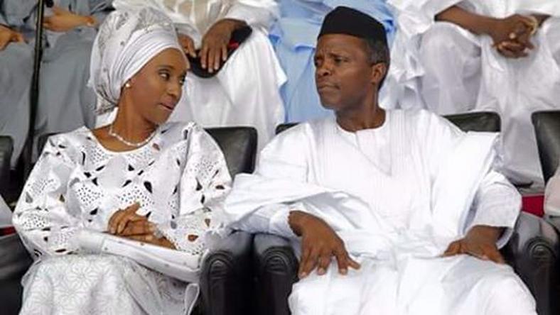 Reelection thanksgiving: My wife prefers quiet life – Osinbajo