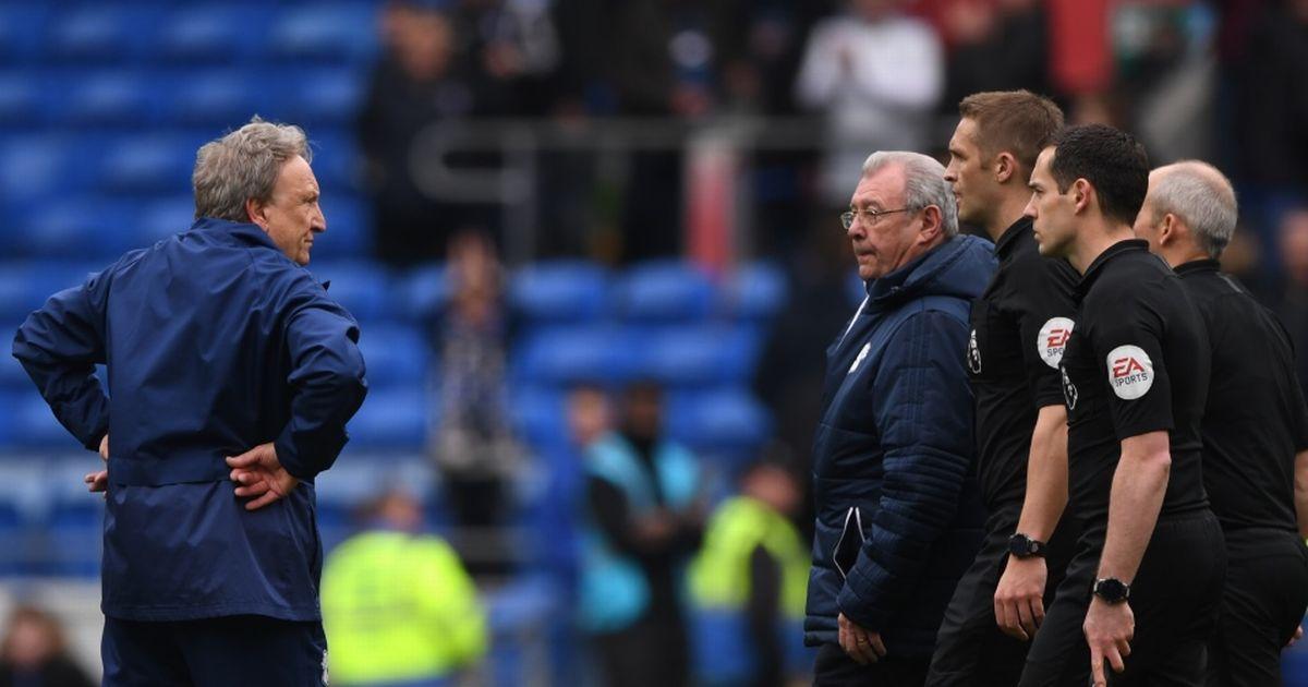 Cardiff City manager blast Premier League ex-referee