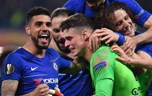 Chelsea beat Eintracht Frankfurt on penalty kicks to reach Europa League final