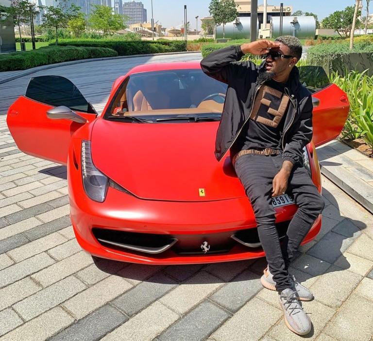 "B Naira acquires multi-million naira Ferrari, releases new song ""Fall on Me"""