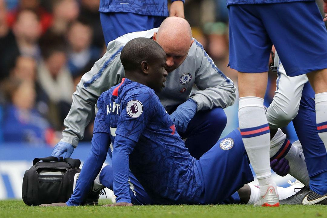 Chelsea's Kante out of Europa League semi-final against Eintracht Frankfurt